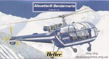 Модель вертолета Алуэтт» III
