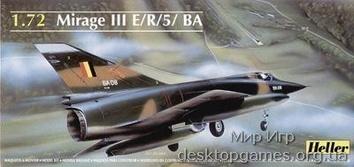 MIRAGE III E 1/72