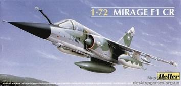 Модель самолета Мираж F1 (MIRAGE)