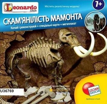 Окаменелость мамонта (Leonardo Junior) (Рус)
