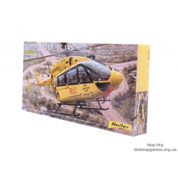 Модель вертолета Eurocopter EC 145  ADAC