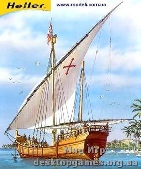 Сборная пластиковая модель корабля Нина (Nina)