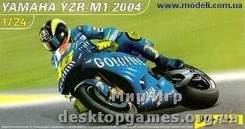 HE80927  YAMAHA YZR-M1 2004 1/24