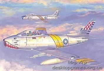 F-86F Block 30 in R.O.C. Air Force