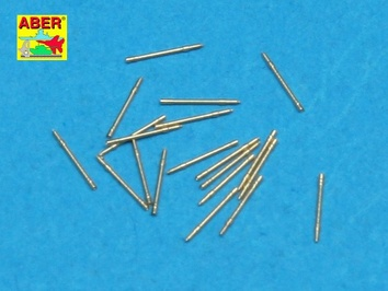 Set of 20 pcs 20 mm L/65 barrels MG C/30 for German ships
