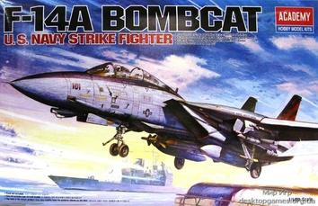 Американский истребитель-перехватчик F-14А «Бомбкэт»