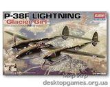 AC12208 P-38F «GLACIER GIRL«