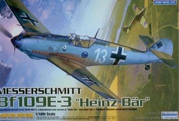 Мессершмитт BF-109E-3