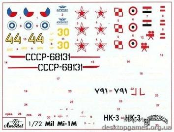 Многоцелевой вертолет Ми-1М, СССР - фото 2
