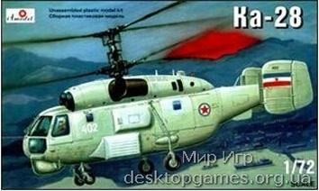 Палубный противолодочный вертолет Ка-28