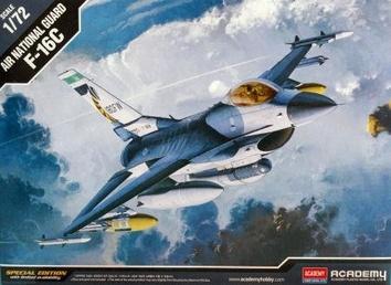 Пластиковая модель самолета F-16C   ANG