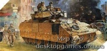 AC13205 M2A2 BRADLY IRAQ 2003 OIF 1/35