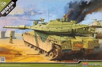 Сборная модель танка Меркава Mk.4