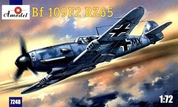 Истребитель Люфтваффе Me Bf-109F2
