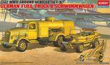 Сборные модели автомобилей, запрвщиков WWII GROUND VEHICLE SET - 3