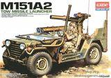 Сборная модель армейского автомобиля M151A2