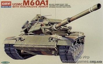 Танк M60A1 с дополнительными бронелистами