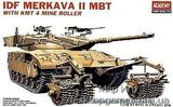 AC1359 MERKAVA II W/MINE ROLLER
