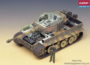 Германский тяжёлый танк «Тигр» - фото 2