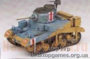 AC1399 BRITISH M3 STUART «HONEY« 1/35
