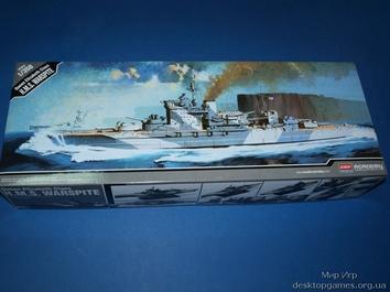 Модель корабля ЕВК «Уорспайт»