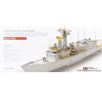 Модель фрегата USS REUBEN JAMES FFG-57