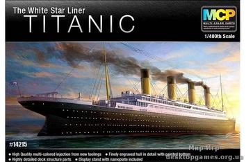 "Пароход  Титаник / Titanic ""White Star Liner"""