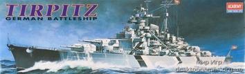 Линкор «Тирпиц» типа Бисмарк