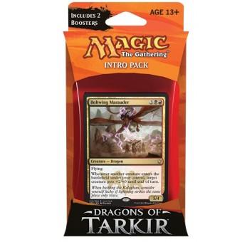 Magic. Dragons of Tarkir Intro Pack: Relentless Rush