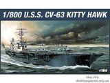 Американский авианосец CV-63 Китти Хок