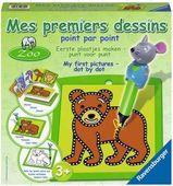 Зоопарк (Mes premi.dessins Zoo) Рисование по точкам