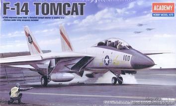 Модель истребителя Томкат F-14A