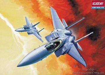 Модель самолета F-15 EAGLE