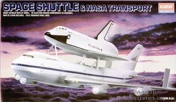Спейс Шаттл с Боинг (JUMBO) 747