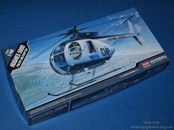 Модель вертолета Хьюз 500 Д (полицейский вертолет)