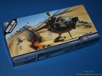 Модель вертолета Хьюз 500 Д (городской вертолет)