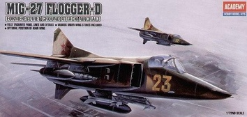 Истребитель-бомбардировщик МиГ-27 Flogger D