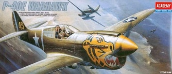 Самолет P-40E Warhawk