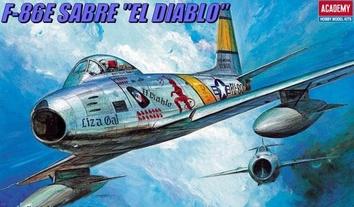 Истребитель F-86E «Сейбр» Дьявол