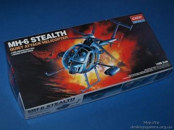 Модель вертолета MH-6 STEALTH