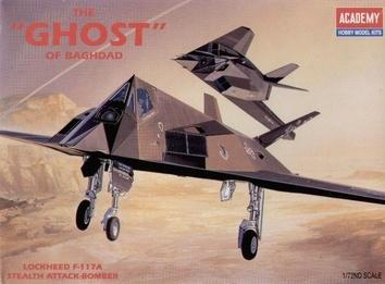 Бомбардировщик Локхид F-117А «Гоуст»