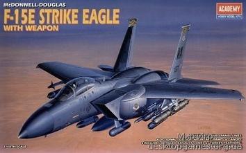 Истребитель-бомбардировщик F-15E «Страйк Игл» (с вооружением)