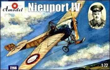 Nieuport IV Истребитель-биплан ВВС Британии