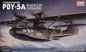 """Морской патрульный бомбардировщик «Каталина» PBY-5 A """"Блэк Кэт"""""""