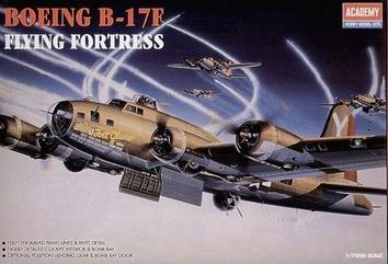 Стратегический бомбардировщик В-17F «Летающая крепость»