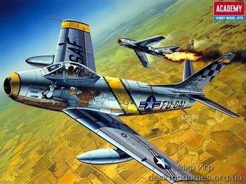 Истребитель F-86F-30 «Сейбр»