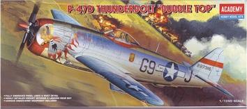 Модель самолета P-47D THUNDERBOLT BUBBLE TOP