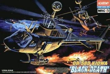Вертолет OH-58D «BLACK DEATH»