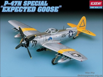 Истребитель-бомбардировщик P-47N Specia l«Expected Goose»