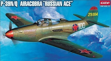 P-39N/Q AIRCOBRA «RUSSIAN ACE»